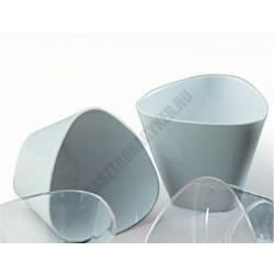 Pohárkrém-desszert tégely, Triangle, fehér, 175 ml, 85x65 mm