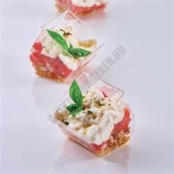 Pohárkrém-desszert tégely, Cubó, 58 ml, 50x50x55 mm