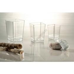 Pohárkrém-desszert tégely, Square, 175 ml, 55x55x80 mm