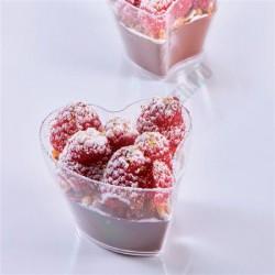 Pohárkrém-desszert tégely, Heart, 100 ml, 73x64x52 mm