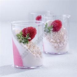 Pohárkrém-desszert tégely, Classic, 90 ml, 50x65 mm