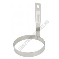 Tükörtojássütő, kör alakú, átmérő 8,5 cm