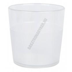 Polikarbonát pohár átlátszó 170 ml (törhetetlen)