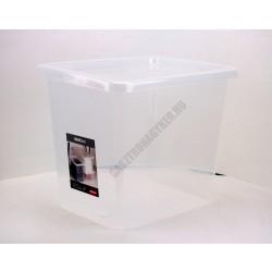 Uzsonnás doboz 29 liter átlátszó fedővel