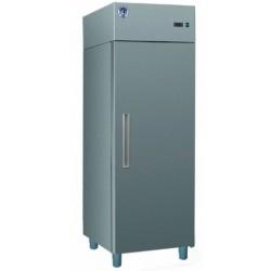 Teleajtós hűtőszekrény 500 literes rozsdamentes külsővel