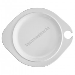 Buffet tányér, 27x22 cm, melamin