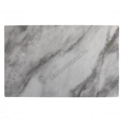 Tálca talppal GN 1/1, márványmintás, 53x32 cm, melamin