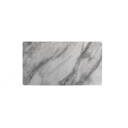 Tálca talppal GN 1/3, márványmintás, 32x17 cm, melamin