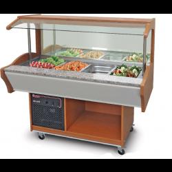 Salátahűtő kocsi 1550×900×1320 mm SB-C-W 155