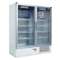 Két üvegajtós hűtővitrin több színben bruttó 1200 literes