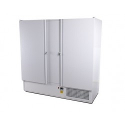 Teleajtós, kétajtós hűtőszekrény 2000 literes rozsdamentes külsővel