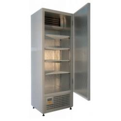 Teleajtós hűtőszekrény 400 literes rozsdamentes külsővel