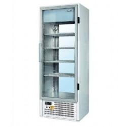 Üvegajtós hűtővitrin 400 literes