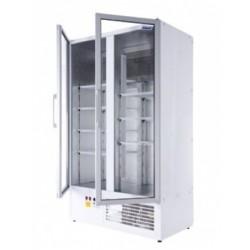 Két üvegajtós hűtővitrin több színben bruttó 850 literes