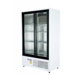 Csúszó üvegajtós hűtővitrin több színben bruttó 850 literes