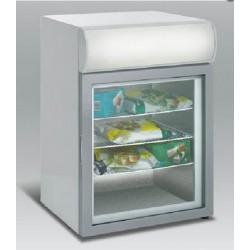 Üvegajtós fagyasztóvitrin 92 l, festett külsővel SD 92