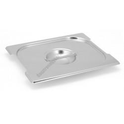 Gn 1/2 tepsi fedő (32,5x26,5 cm) rozsdamentes fülkivágással