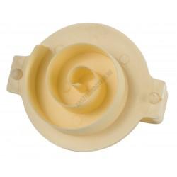 Péksütemény mintázó, girella, 8 cm, műanyag
