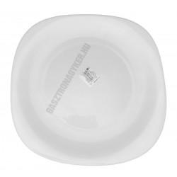 Parma fehér tál 31×31 cm, opál üveg