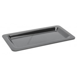 Gn edény 1/3 20 mm (17,6x32,5x2 cm) fekete melamin