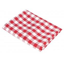 Abrosz 140×100 cm piros kockás