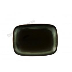 Trend Corten szögletes tálka, 12x8xH1,5 cm, porcelán