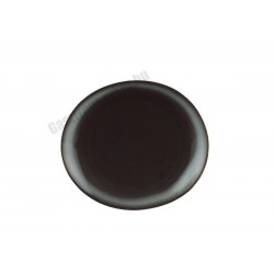 Trend Corten ovális tányér, 20 cm, porcelán