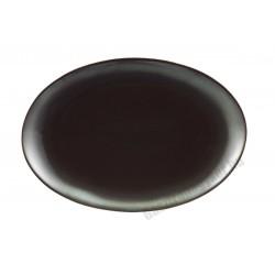 Trend Corten ovális sültestál, 30x21 cm, porcelán