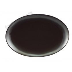 Trend Corten ovális sültestál, 35x24,5 cm, porcelán