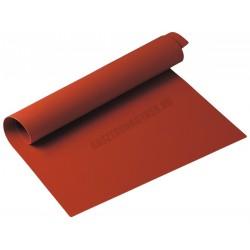 Sütőlap, szilikon, 42x27 cm, piros