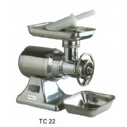 Húsdaráló TC-22, 280 kg/h, alumínium ház, 400V/1,1kW, 440×240×400