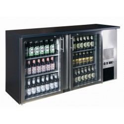 Bárhűtő 290 literes két üvegajtós
