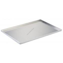 Alumínium perforált sütőlemez, 60x40x2 cm, 4 szélű, lemezvastagság 1,5 mm