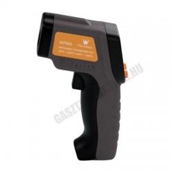 Maghőmérő, infravörös, -50 - +420 fokig, LCD kijelzővel