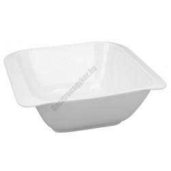 Infinity salátás-leveses tányér 20*20cm, porcelán