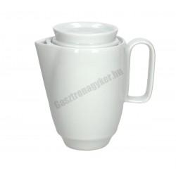 Thesis kávéskanna fedővel, 400 ml, porcelán