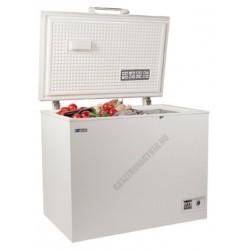 Felnyitható teletetős mélyhűtőláda, 280 liter, UDD 360 BK