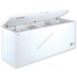 Felnyitható teletetős mélyhűtőláda, 675 liter, UDD 600 BK