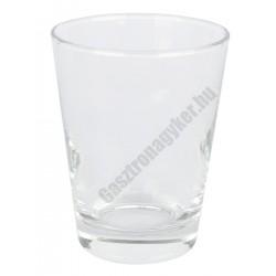 Dallas vizes pohár 220 ml, üveg