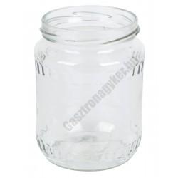 Befőttesüveg 580 ml. 48 db/doboz, tető nélkül