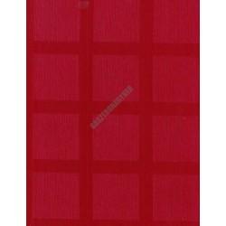 Abrosz 140x140 cm bordó damaszt szennytaszító