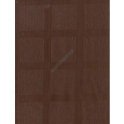 Abrosz 68x68 cm sötétbarna damaszt szennytaszító