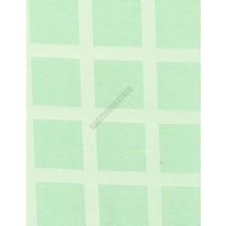 Abrosz 68x68 cm almazöld damaszt szennytaszító