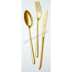 Venice tin gold szervírozókanál, arany színű, 4 mm