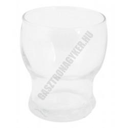 Lili vizespohár, 180 ml, sorolható, temperált, üveg