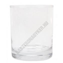 Merlot vizes-whisky pohár, 330 ml, temperált