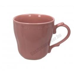 Vecchio Vienna bögre, 350 ml, rózsaszín porcelán