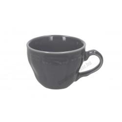 Vecchio Vienna kávéscsésze, 80 ml, szürke porcelán