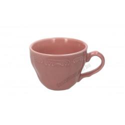 Vecchio Vienna kávéscsésze, 80 ml, rózsaszín porcelán
