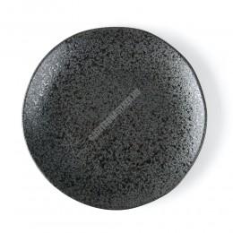Carbon lapostányér, 27 cm, kemény porcelán